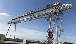 10 Ton Truss Gantry Crane for Power Project in Bangladesh