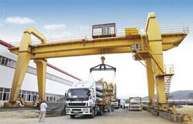 Double girder gantry crane supplier Vietnam|Gantry crane for
