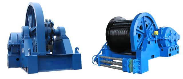 JMM Series Electric Winch