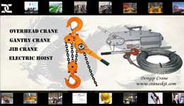 Hand Chain Lever Hoist |Wire Rope Pulling Hoist
