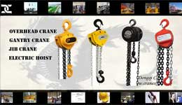 Manual Chain Hoist / Chain Block