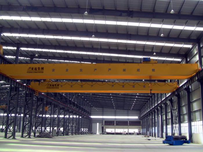 Overhead Cranes Europe : Ton european type double girder overhead crane for