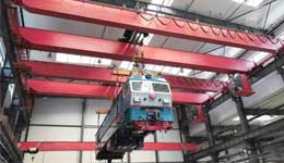 Overhead Cranes for Maintenance of Rail Transit Vehicles