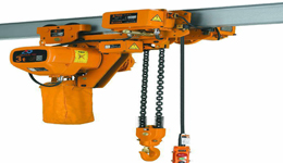 Low Headroom Electric Chain Hoist |Electric Trolley Type |Manual Trolley Type