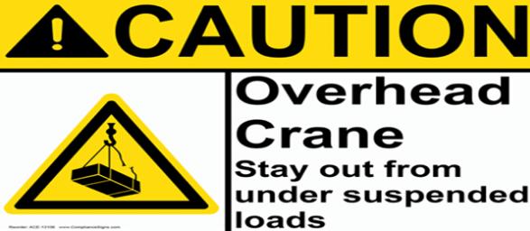 Overhead Crane Warning Horn : Crane safety for visitors
