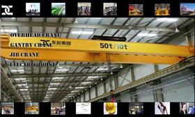 QD Overhead Crane With Hook