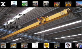 LDP Low Headroom Overhead Crane Single Girder