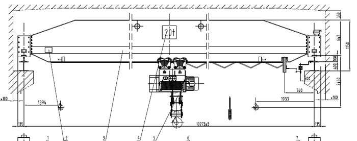 ld20ton drawing overhead crane wiring diagram pdf tower crane electrical circuit  at soozxer.org